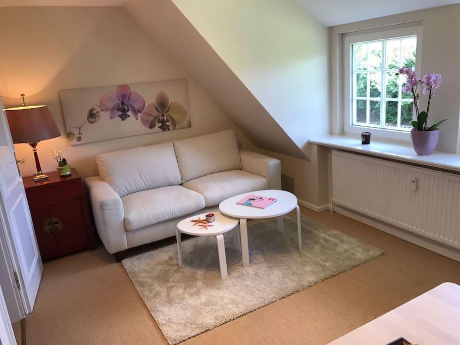 Wohnzimmer , gemütliche Sitzecke
