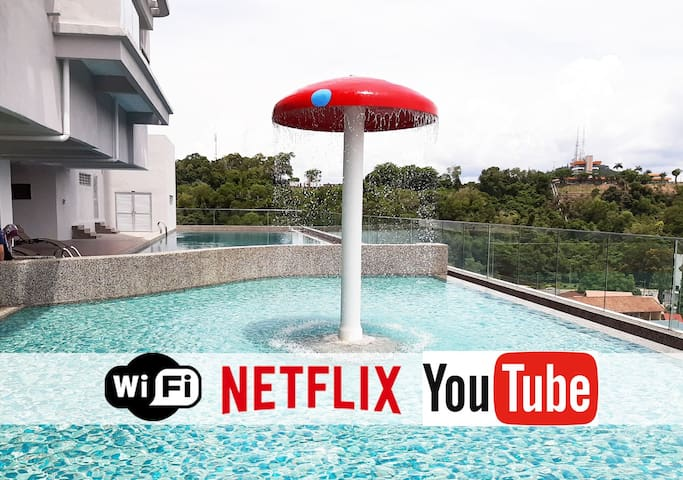 T STAY @ Icon Residence (NETFLIX| POOL| SAUNA)