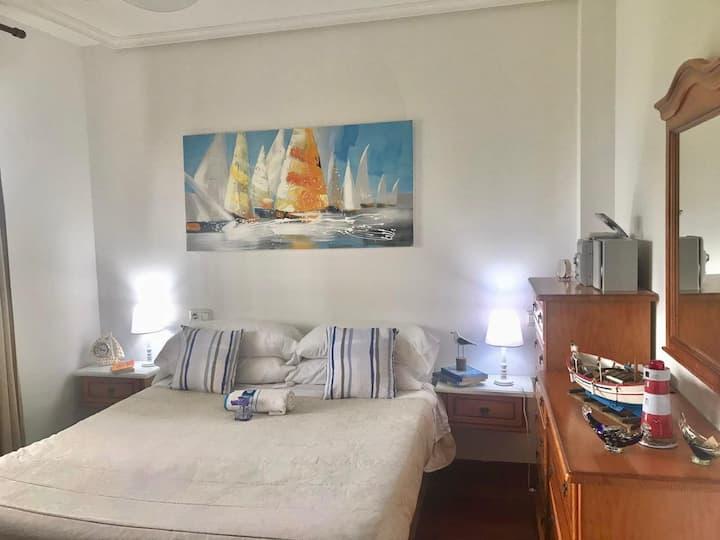 Apartamento marinero junto a la playa