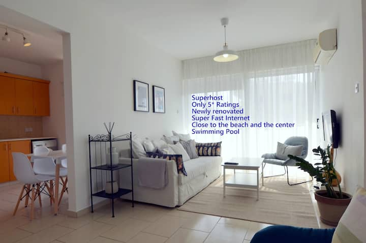 Athina Mackenzie 2 bedroom with terrace and pool*