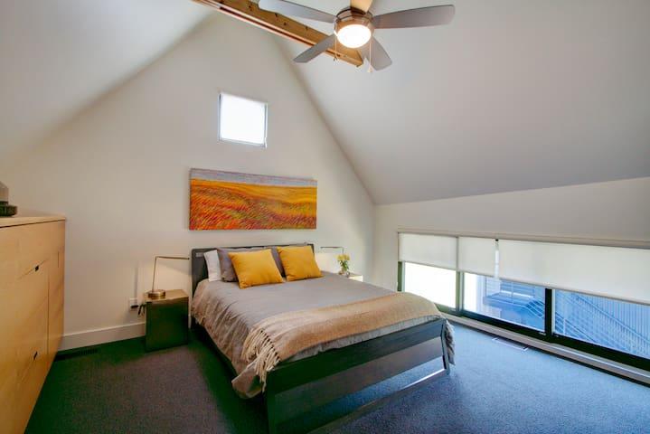 Master bedroom second floor.