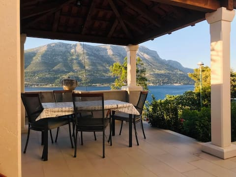 Charming apartment for 2+2(Seaview, 3min to beach)