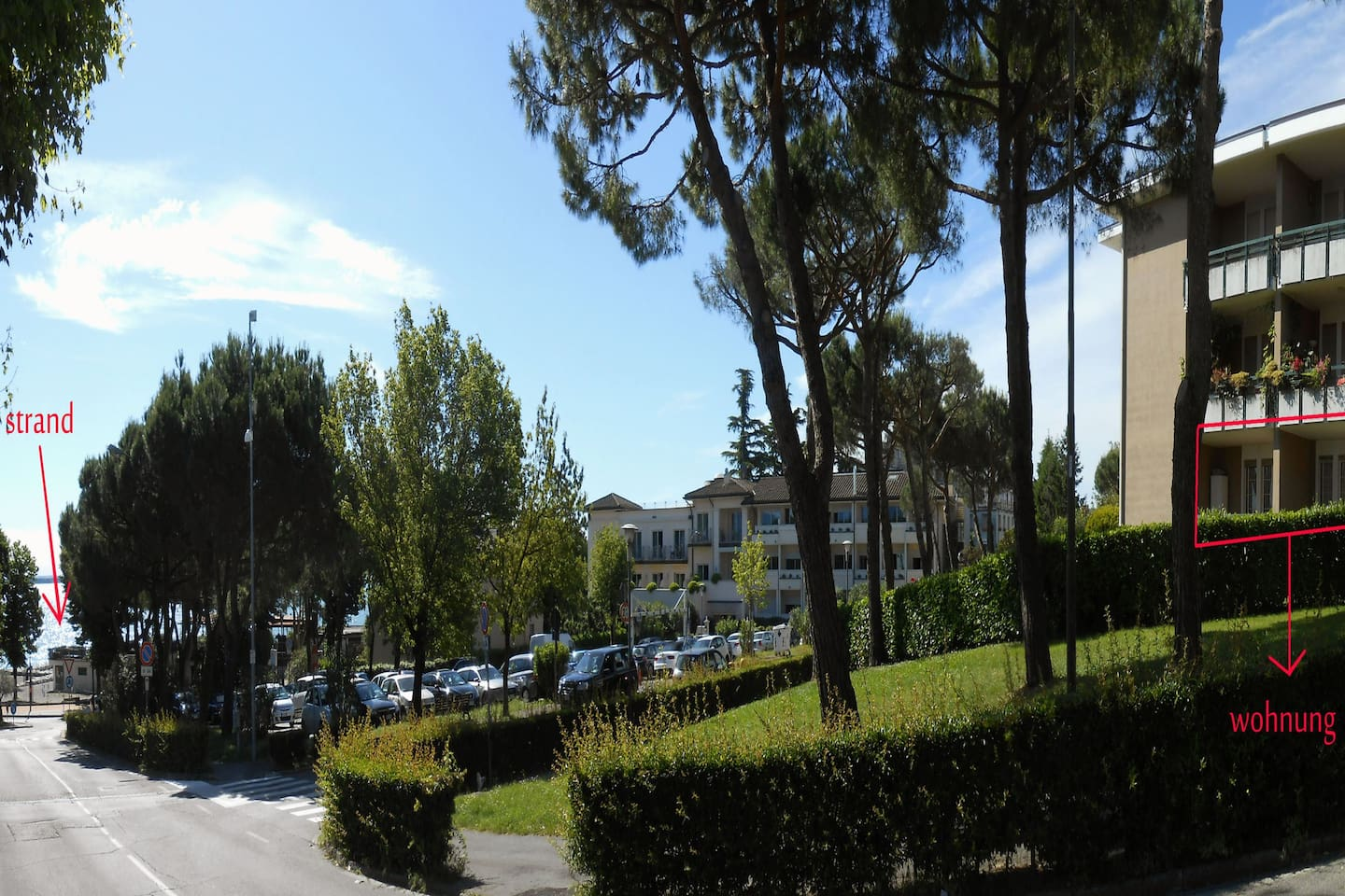 80 meters from the beach and Lake view
