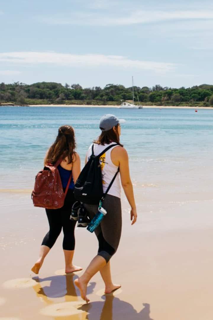 Dip your feet in Sydney's hidden beaches