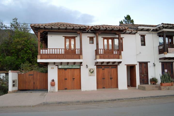 Apartamento Vacacional 8 Pax - Villa de Leyva - Daire