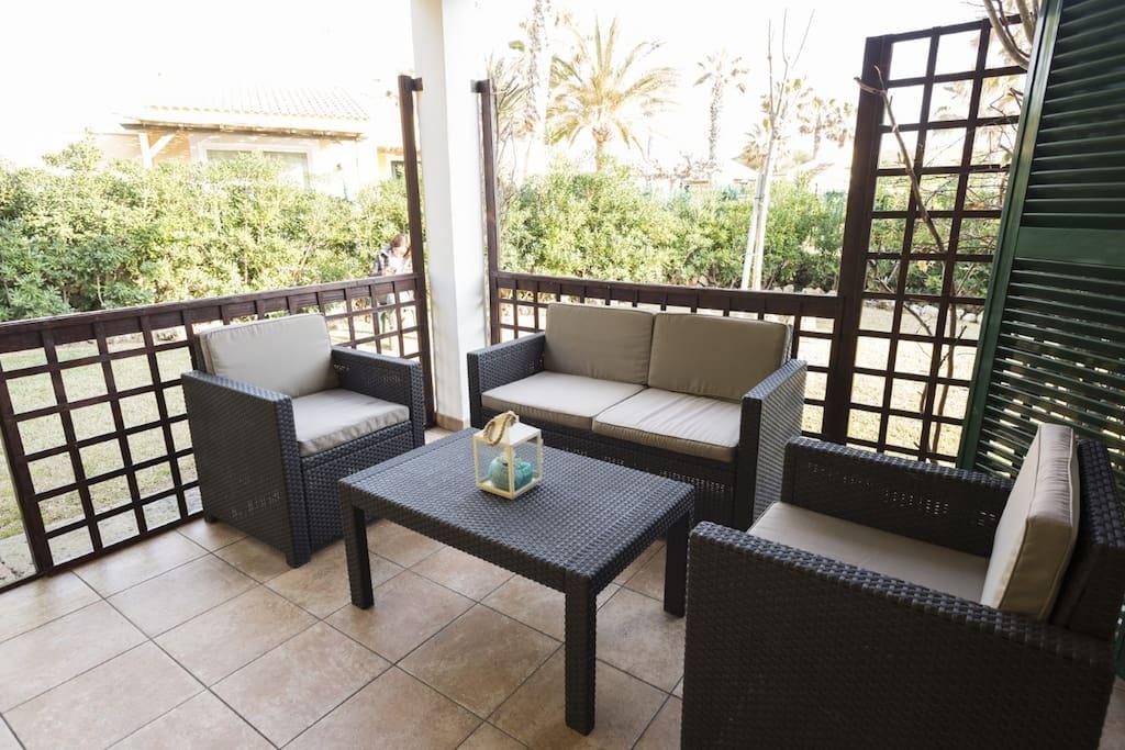 Terraza-sofá