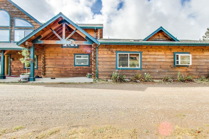 Fully handicap-accessible ranch home w/ modern comforts & country tranquility!
