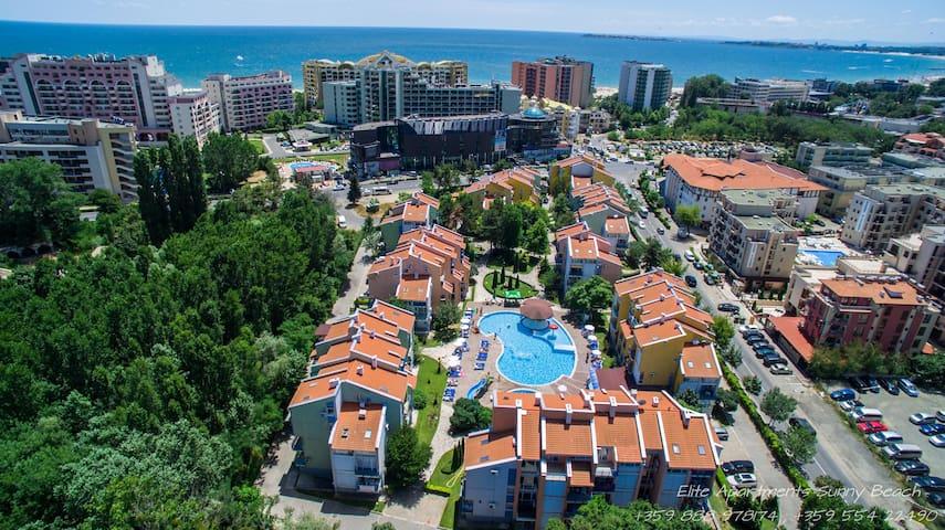 ELIT 1 apartments - one-bedroom apt - Sunny beach - Apartamento