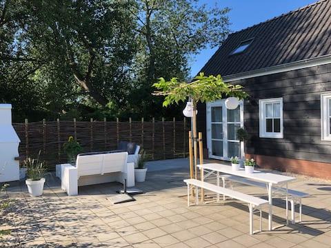 Slapen bij Zilt&Zo, mooie nieuwe vakantiewoning