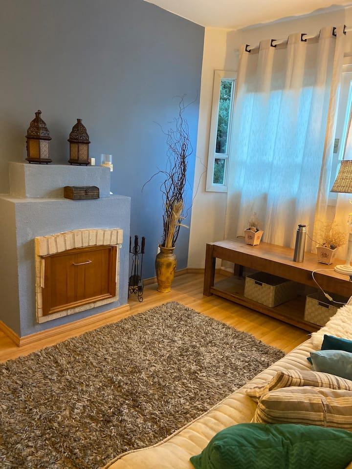 Um charme..apartamento na Serra