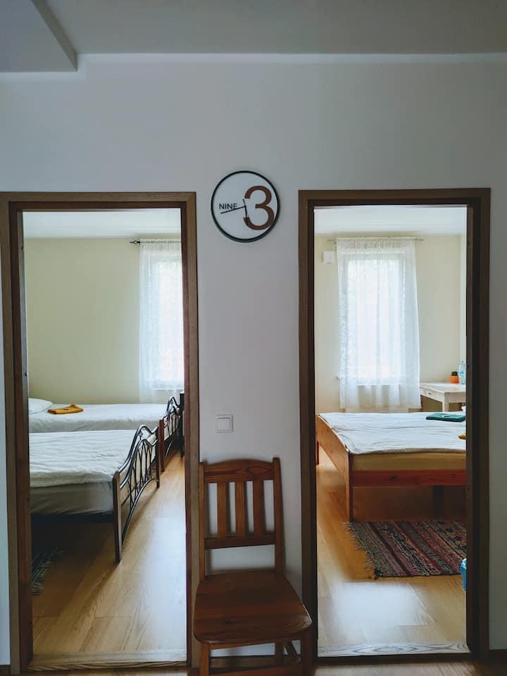 Apartment in Kuressaare. Free parking!