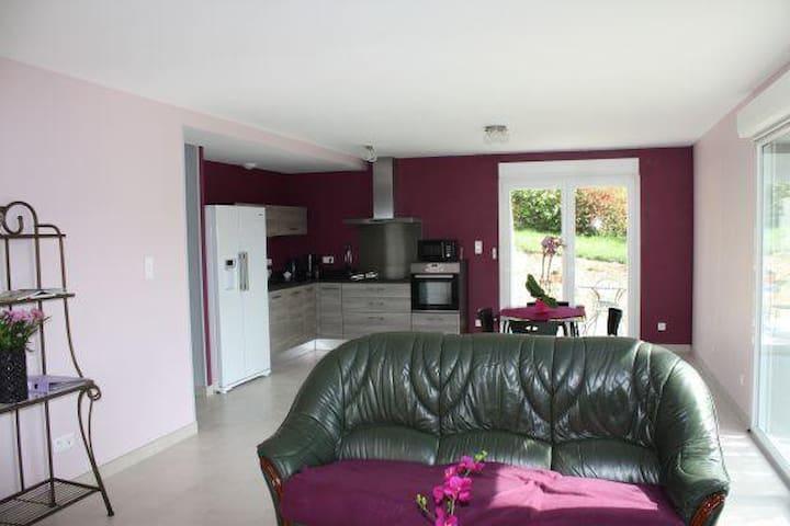 Spacieux Appartement Indépendant Lumineux (Jardin) - Contrexéville - Lejlighed
