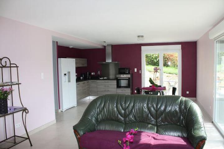 Spacieux Appartement Indépendant Lumineux (Jardin) - Contrexéville - Huoneisto