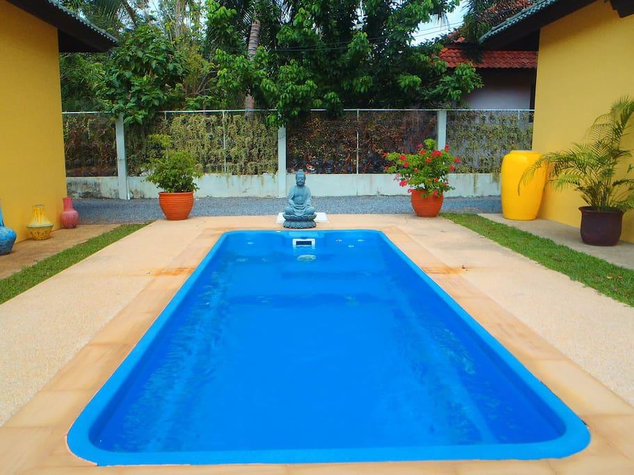 La piscine après rénovation
