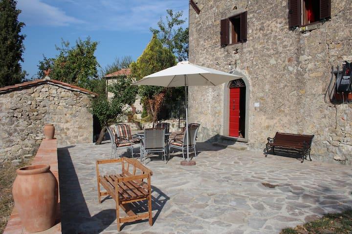 Ferienhaus, Toskana,Rustico fantastischer Ausblick - Santa Fiora - Ev