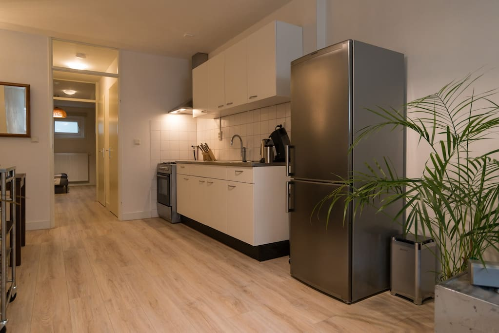 The modern and well equipped kitchen, because food is life.