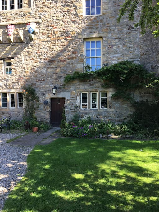 Ground floor apartment in Stanhope Old Hall