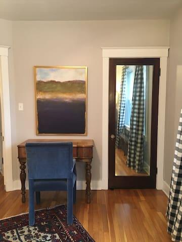 Desk + Closet in guest room