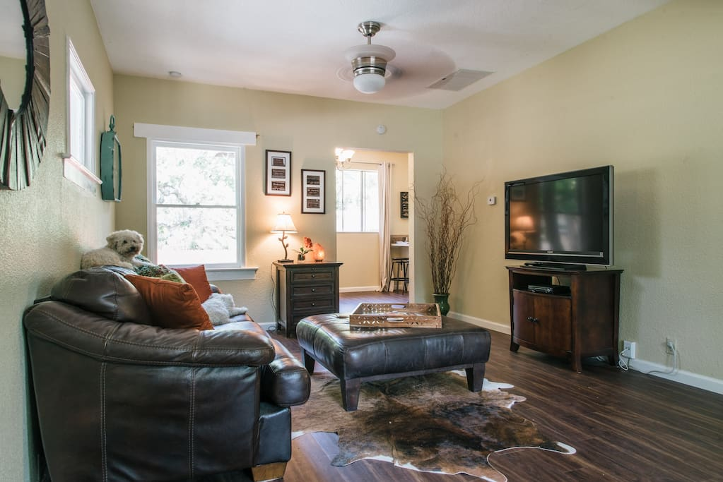 area view of living room