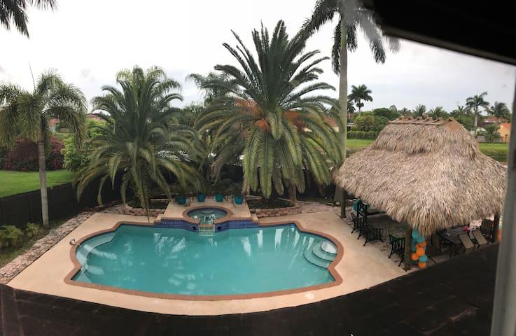 Tropical Escape in Miami