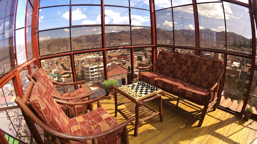 HAYKUMUY CUSCO APARTMENT 1 - GREAT VIEW AND PRICE! - 庫斯科 - 公寓