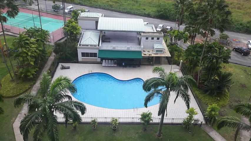 멋진 리카스 지역 아파트입니다 - Kota Kinabalu - Wohnung