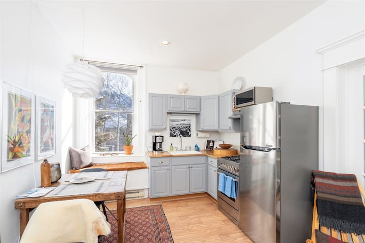 Thoughtfully Decorated One Bedroom ideally Located in the Town of Telluride Just Steps to Main Street