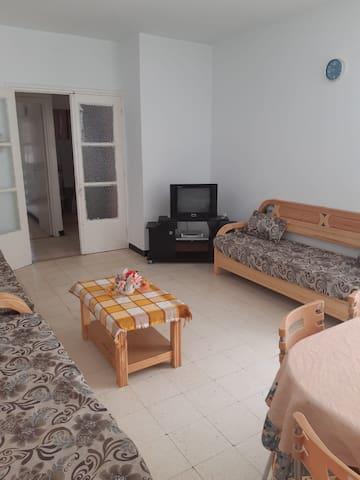 Bizerte appartement près de la plage et du port