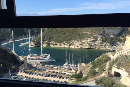 Chambre d hôte magnifique vue mer - Bonifacio - 住宿加早餐