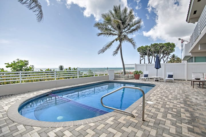 Beachfront Fort Lauderdale House w/Private Pool!