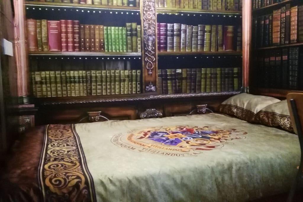 图书馆卧室