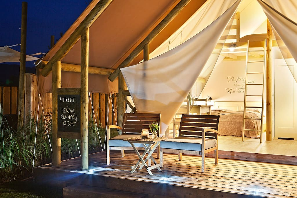 Private tent