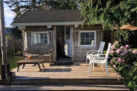 The Magic of Hood Canal in a Small, Private Cabin