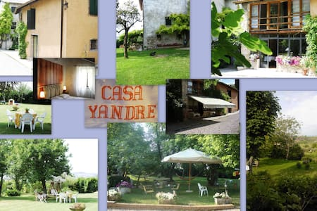 ROOM IN A HOUSE SURROUNDED BY GREEN of GARDA LAKE - Bardolino - Bed & Breakfast