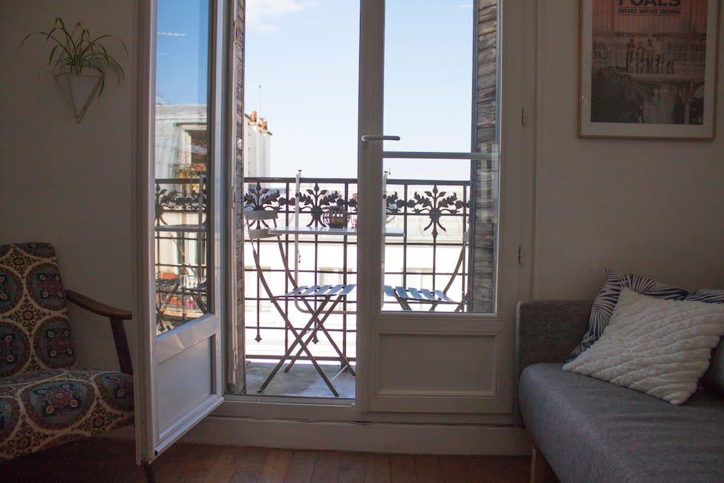 Appartement agr able et lumineux avec balcon for Appartement avec balcon paris