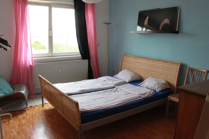 Double bedroom with a nice view - Maribor - Apartment