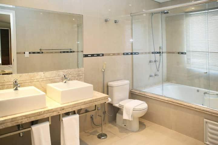 Suite Master com Hidro - Le village Flats e Hotel