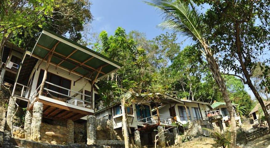 Beautiful Fan Bungalow - Hill Side - Ao Nang - Bungalow
