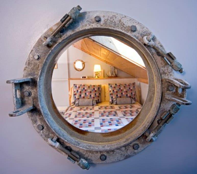 The Captains porthole