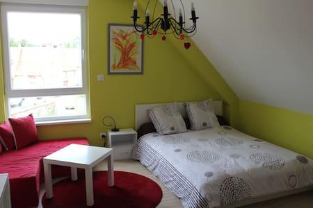 Superbe chambre moderne et cosy avec salle de bain - Menchhoffen