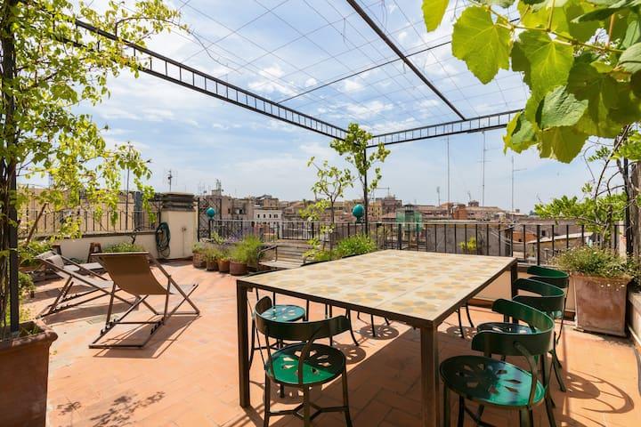 Roman-Ce ( Bellevue Roof Terrace)