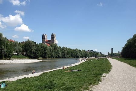 Top Flat near Isar and Citycenter - Munich