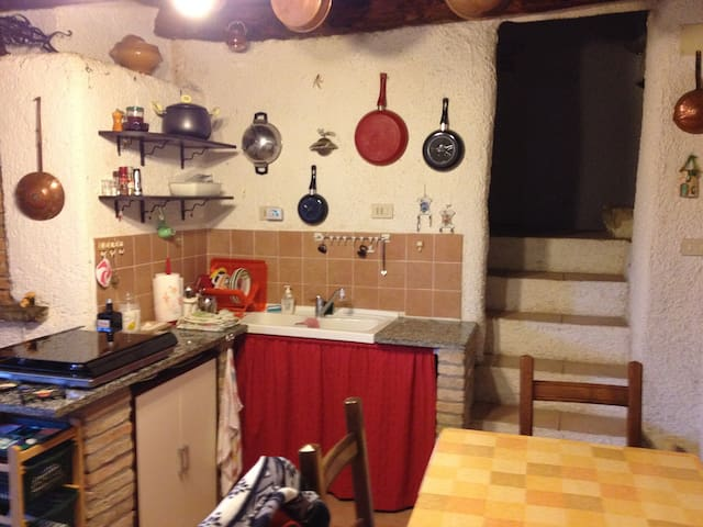 Old Village Bakery Converted to a Holiday Home - Poggio Santa Maria - Townhouse