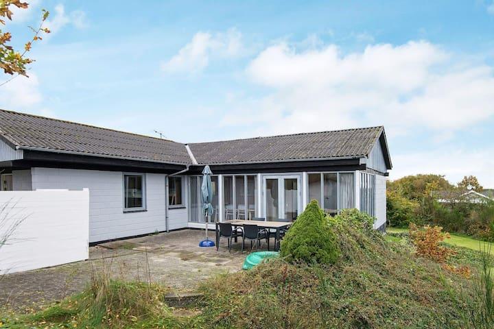 Maison de vacances de charme à Jutland avec terrasse