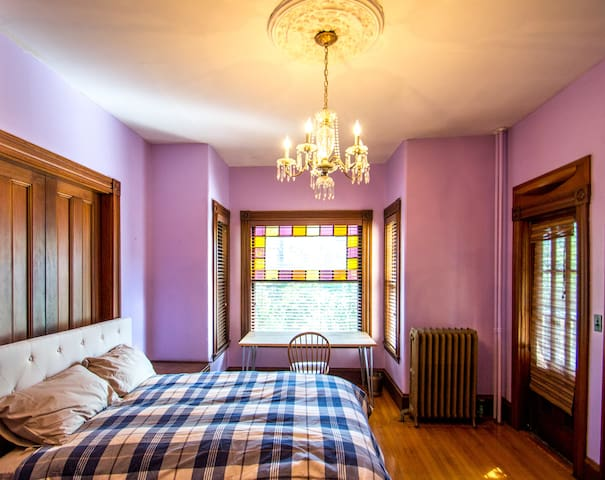 Beautiful Large Room in a Victorian Mansion - Boston - House