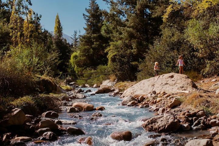 Casa Frente al Río y las Montañas 15 min de Santgo