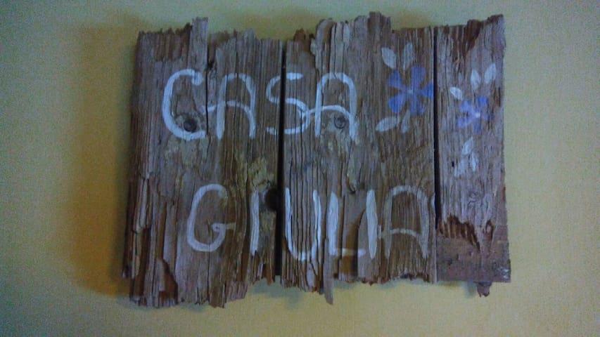 Casa Giulia sulla via Francigena