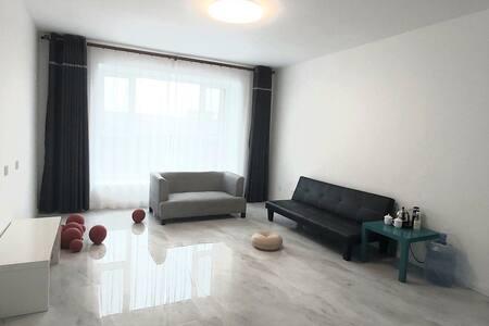 宁静氛围极简主义邂逅灰色调公寓,以理性思考回归家的本质,高新区别墅区极简宅寂美学,精致典雅的居住体验