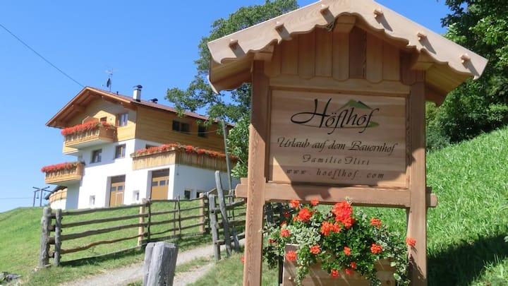 Höflhof- Urlaub auf dem Bauernhof FEWO Abendrot