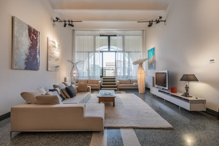 GIUDECCA GALLERY stylish loft with terrace!